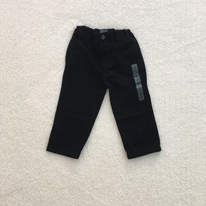Toddler black trousers